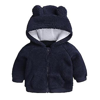 Newborn Baby Clothes Autumn Winter Warm Hooded Jacket & Coat Toddler Boy Girls Cartoon Bear Outerwear