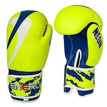 Boxing Gloves – 10 oz – Neon Yellow – Boxing