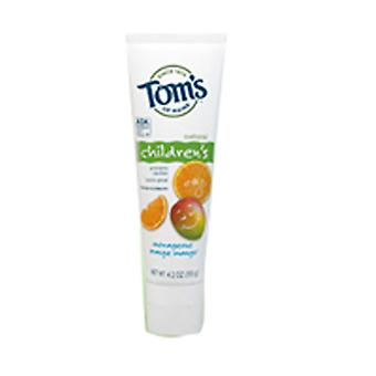 Tom's Of Maine Children's Natural Toothpaste, Orange Mango, 4.2 oz