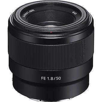 SONY SEL 50MM F1.8 F Black