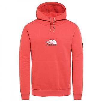 Sweat The North Face Fine Alpine Hoodie Rouge