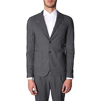 Traiano Tb11ta05ti3a Men's Grey Nylon Blazer
