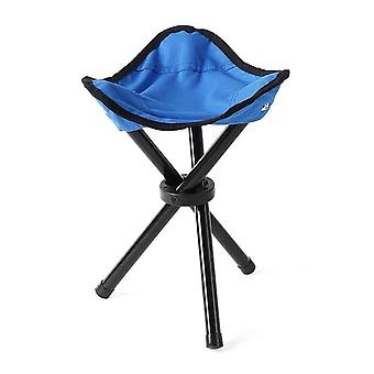 Outdoor Portable Tripod Stool, Folding Chair Camping