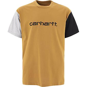 Carhartt I02835903hz00 Men'camiseta bege cotton