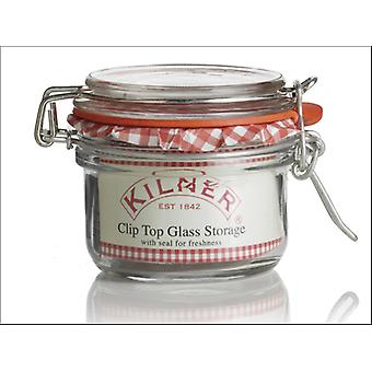 Kilner Clip Jar Round 125ml 0025.496