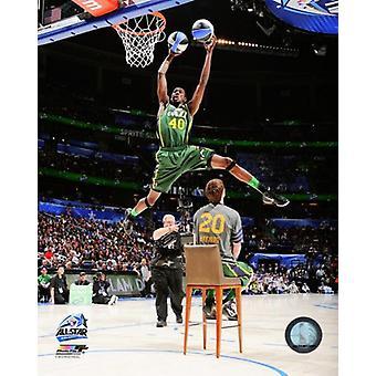 Jeremy Evans 2012 NBA Slam Dunk concurso ganador foto impresión