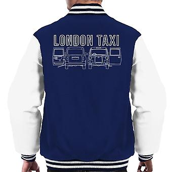 London Taxi Company TX4 Open Door Men's Varsity Jacket