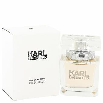 Karl Lagerfeld Eau De Toilette Spray door Karl Lagerfeld 1.5 oz Eau De Toilette Spray