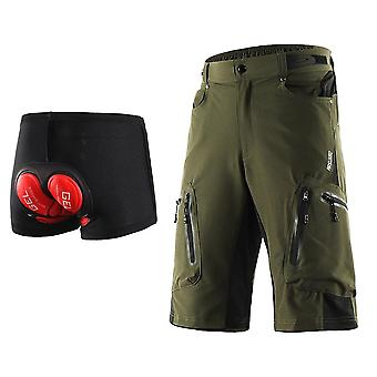 Pantaloncini da ciclismo Uomo, Intimo Downhill Water Resistant Loose-fit Quick Dry