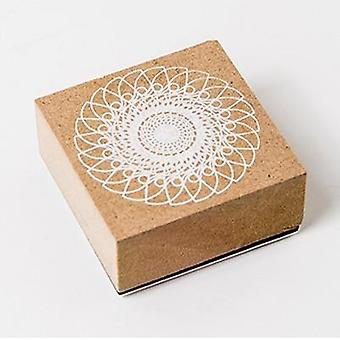 Timbres de diy de papeterie de fleurs de dentelle pour scrapbooking, journal, standard, école
