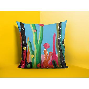 Cojín/almohada de tiempo de cactus
