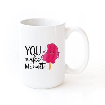 You Make Me Melt-mug