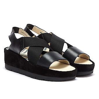 Fly London Bime Womens Black Sandals