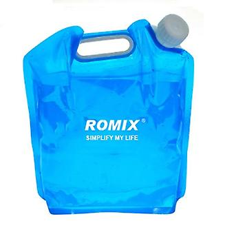 Romix 5L BPA Free Fold-able Camping Drinking Water Storage Container Carrier Bag