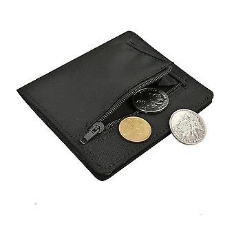 Smukły nylonowy portfel