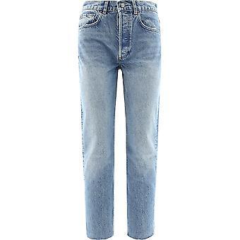 Boyish 102031 Women's Light Blue Cotton Jeans