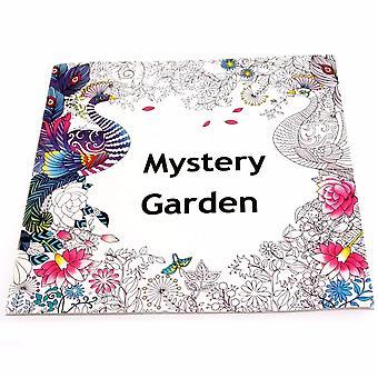 Garden Treasure Hunt Painting Book