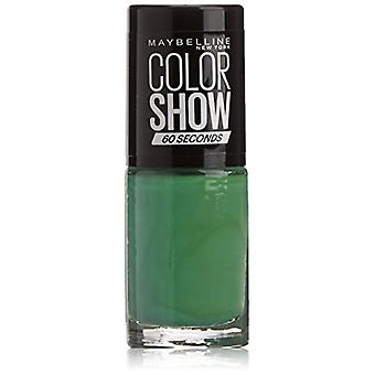 Maybelline Color Show Nail Polish 7ml - Faux Green