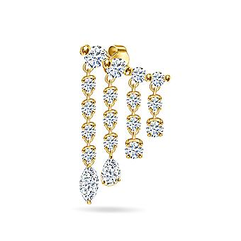 Korvakorut Diamond Rain & 18K Gold