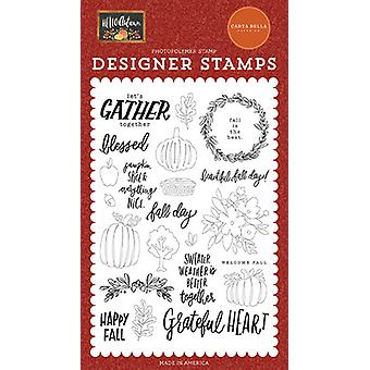 Carta Bellan syksyn päivä selkeät postimerkit