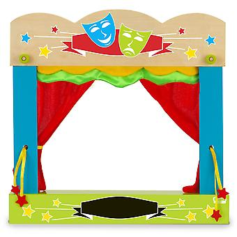 Fiesta crafts t-2749 fiesta carry-case finger puppet theatre