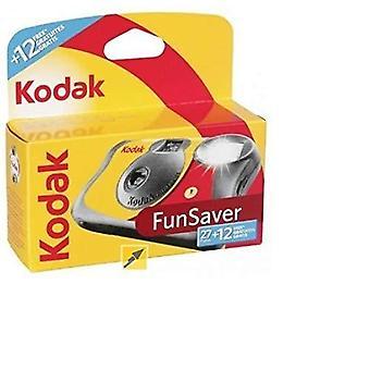 Kodak Einweg-Funsaver-Kamera mit Blitz 27 Belichtungen +12 kostenlos