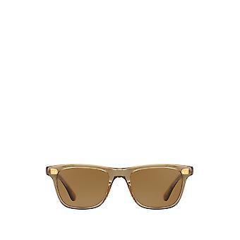 Garrett Leight WAVECREST SUN bottle glass brown unisex sunglasses