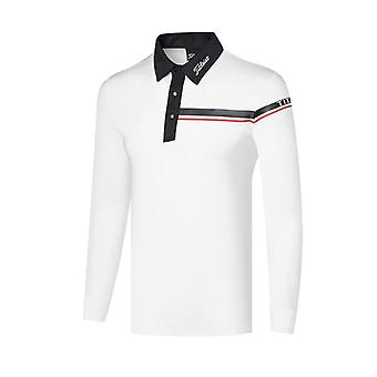 Men's Golf Long Sleeve Shirts, Autumn And Winter Clothes