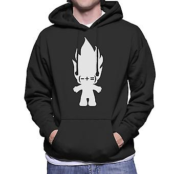 Trolls Minus Plus Equals Men's Hooded Sweatshirt