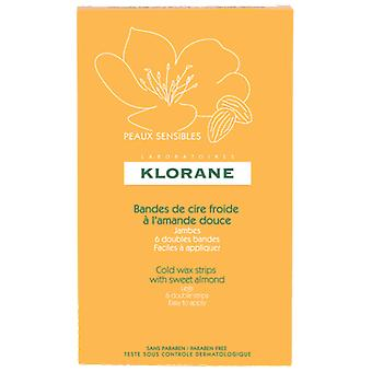 Klorane Cold Wax for Legs 6 Bands