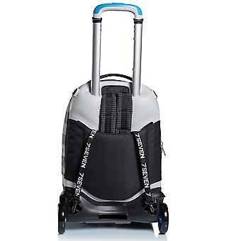 Trolley Jack 2WD SEVEN - SPACE CHECK, mochila negra y extraíble