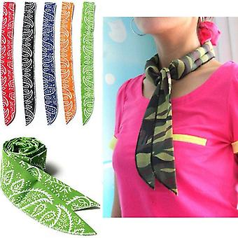 Non-toxic Neck Arm Cooler Scarf Body Ice Cooling Wrap Tie