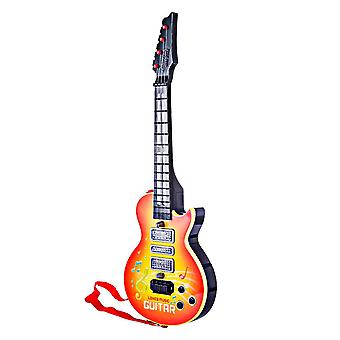 4 Strings Music Electric Guitar Kids, Musical Educational