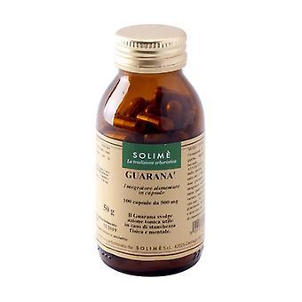 Guarana supplement in capsules 100 capsules of 500mg
