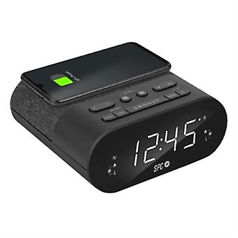 Alarm Clock with Wireless Charger SPC 4587N