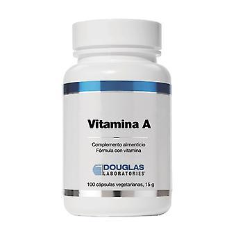 Vitamin A 100 capsules (4000UI)