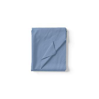 Blaue Baumwolle Ein Blatt, L150xP290 cm