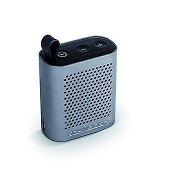 Alto-falantes Bluetooth Schneider Groove Micro USB 450 mAh 2W/Vermelho