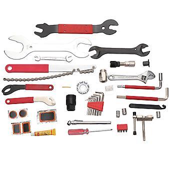 44 multiværktøjssæt til vedligeholdelse og reparation af cykler