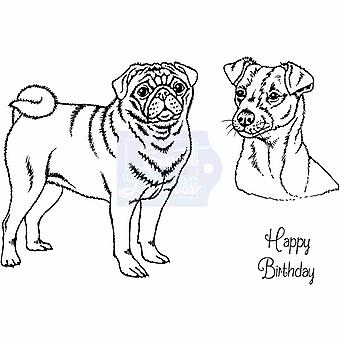 Sweet Dixie Clear Stamps - Pug And Jack Russell Terrier