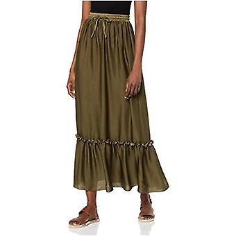 Brand - find. Women's Peplum Maxi Skirt