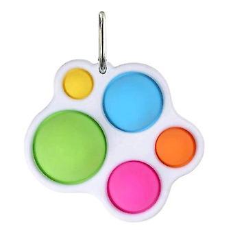 2kpl yksinkertainen fidget aistinvarainen lelu asettaa stressinlievitys lelu