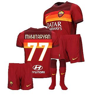 2020-2021 AS ROMA Home Nike Little Boys Kit (MKHITARYAN 77)