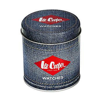 Lee Cooper mäns klocka Blå Dial Marine Mat - LC06380.390