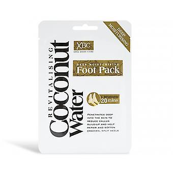 1 Leczenie Głębokie nawilżające Rewitalizujące Kokosowe Wody Foot Pack