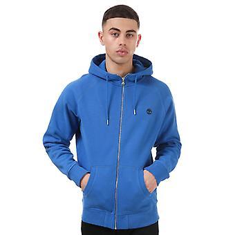 Menn's Timberland Basic Zip Hoody i blått