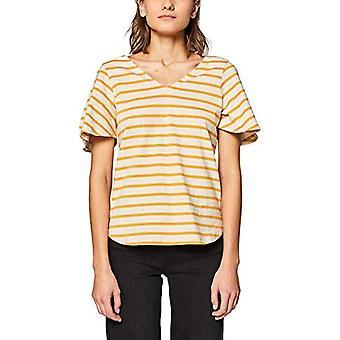 edc de Esprit 039CC1K049 Camiseta, Amarillo (Amarillo Ámbar 700), S Donna