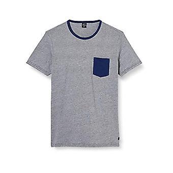 s.Oliver T-Shirt Kurzarm, 25G0 Pop Orange Stripes, S Man(3)