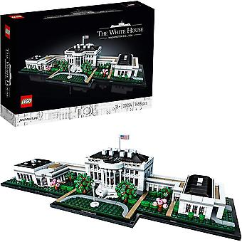FengChun LEGO21054ArchitekturTheWhiteHouseModel,LandmarkCollectionforAdults,CollectibleGiftIdea