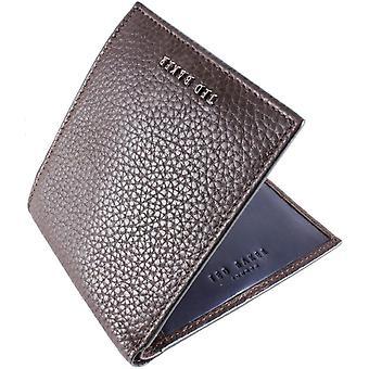 Ted Baker Lyberty Leder Bifold Brieftasche - Schokolade braun